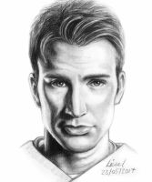 Chris Evans by FyreBirdi