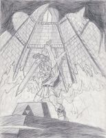 old Ocarina of Time drawing by Twinkie5000