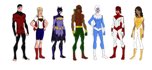 My DC Reboot Titans East by jsenior