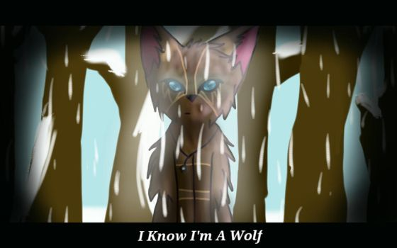 Yes I know I'm a wolf by homestucklover14