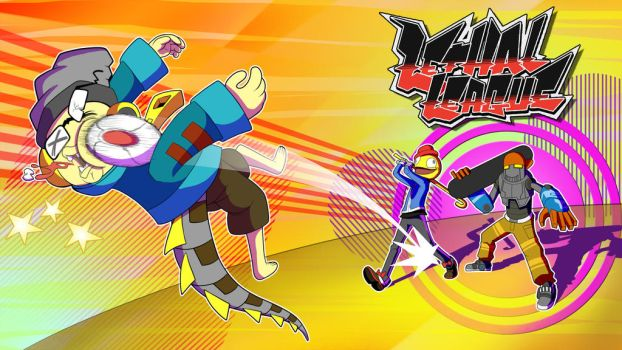 Lethal League (YT cover art) by blue-von