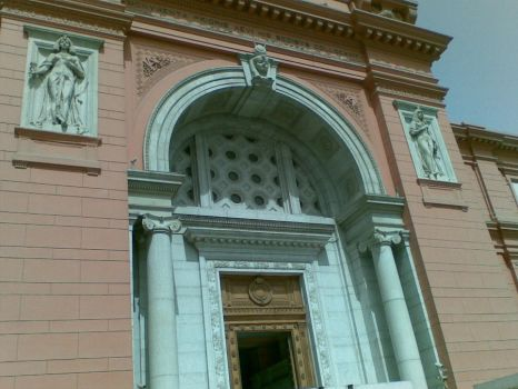 egyptian museum gate by fbi99