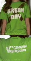Green Day T-Shirt by IsabellaSG