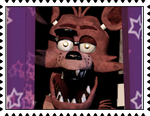 Foxy the Pirate's Stamp by RalphAguilar462