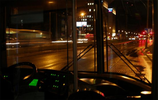 on a bus by VladKropotkin