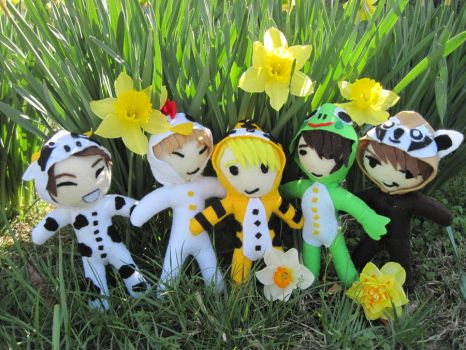 SHINee Hello Baby Plushies 2 by SubterraneanTV