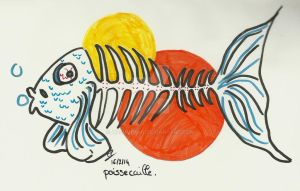 Speed draw: Poissecaille. by atsumimag