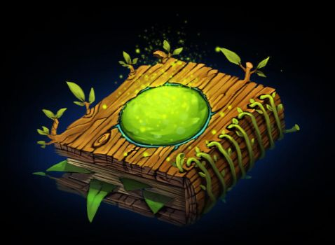 Book Wood by fhilipfry