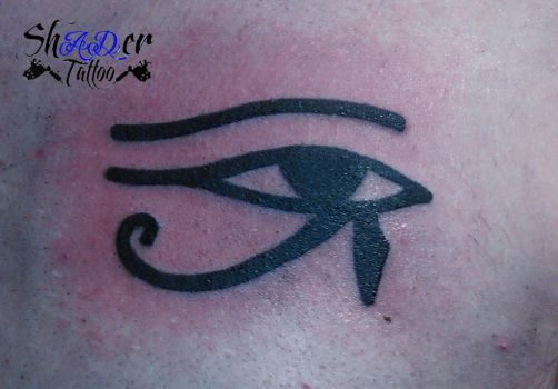 Eye of Horus by Shadertattoo