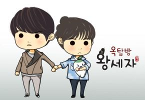 Rooftop Prince by CutieFlame