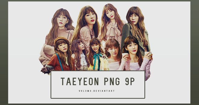 TaeYeon beauty+ 9P PNG by vul3m3