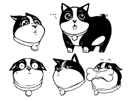 Dog Expressions by mongrelmarie