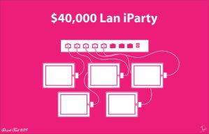 $40,000 Lan Party DT 119 by CWArtist