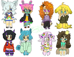 .:: adopt chibs mix - OPEN::. by bearkind