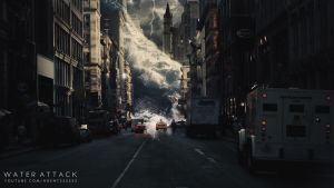 Water Attack (Photoshop CS6) by MhdConcepts