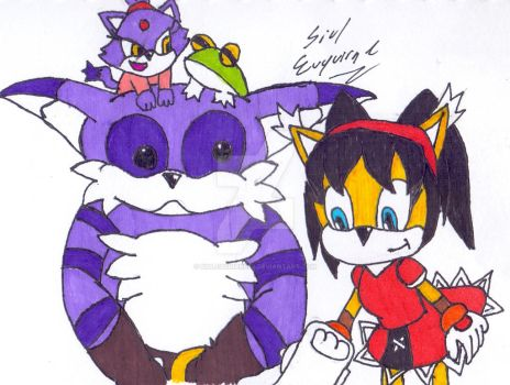 The Cat Family by SiulEuquirne89