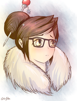 Overwatch - Mei by Cyba-Fyba