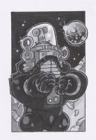 ROBBY THE ROBOT by leagueof1