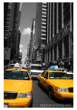ManhattanTaxis by jimmo78