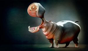 Hippo color by JBVendamme