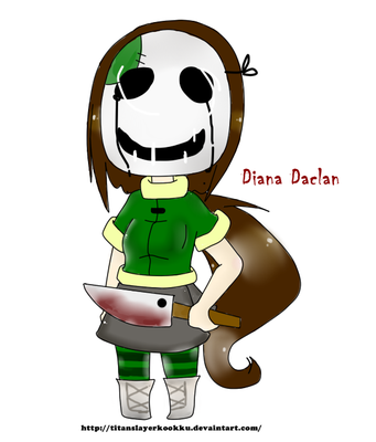 Diana Daclan [ Mascot ] by TitanSlayerKookku