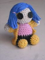 Coraline crochet by dna-kun