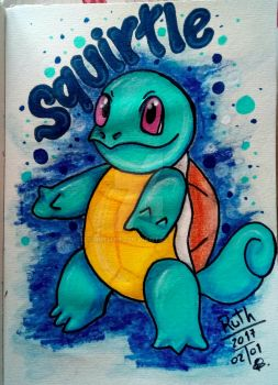 Squirtle by ruthart