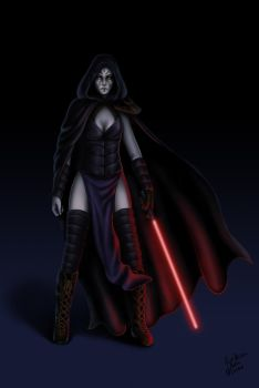 Sith woman by gMaleen