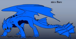 nico flare dragon form complete detail by zeng20