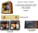 Vintage telly for MMD by MasterOfHelium