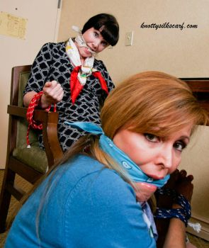 Hotel Amenities include Ropes and Gags by knottysilkscarf