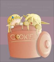 In The Cookie Jar: Colour by Lady-Zelda-of-Hyrule