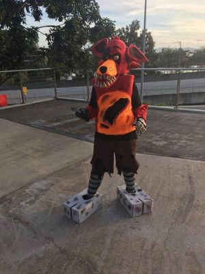 My 2nd ever Cosplay (Foxy) by PlushQueenDIY