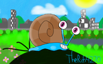 Sheldon the Snail by Rich4270