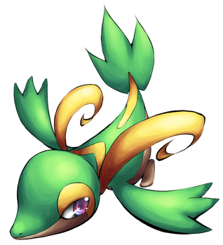 Snivy by Ettelle