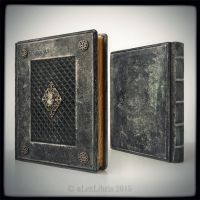 Medieval styled leather journal... by alexlibris999