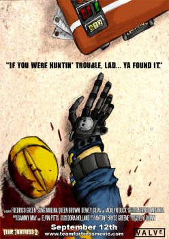 Team Fortress 2 Movie Poster by ChesterPalm