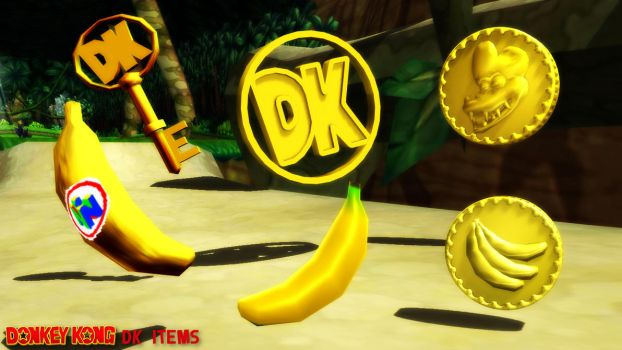 (MMD Model) DK Items Download by SAB64
