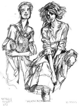 Sketches: Random Fashion by otherwise