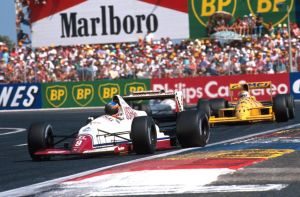 Martin Donnelly | Nelson Piquet (France 1989) by F1-history