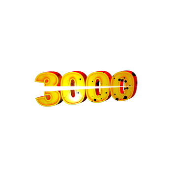 3000 pageviews by Bvk