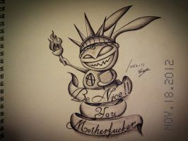 Anarchism Rabbit by Eason41