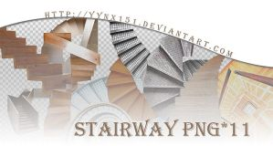 Stairway png pack #01 by yynx151