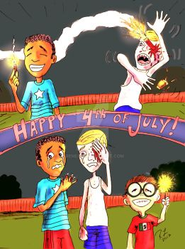 sPARKLY 4th oF jULy by Rene-L
