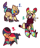 YIPPY! ADOPTS!  -CLOSED- by Manic-Bunny