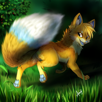 Clever Vixen by Skeleion