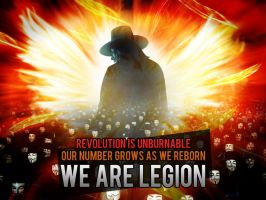 Anonymous Phoenix - WE ARE LEGION by OpGraffiti