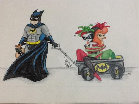 Happy Holidays for The Batman by Cairo-Cares