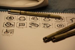 Draft: Flurry icons by Buou