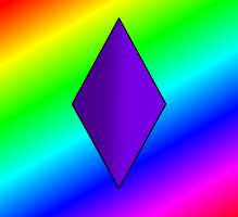 Purple horn for Pride by spartanskills